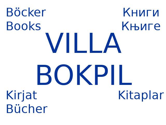 Villa Bokpil books